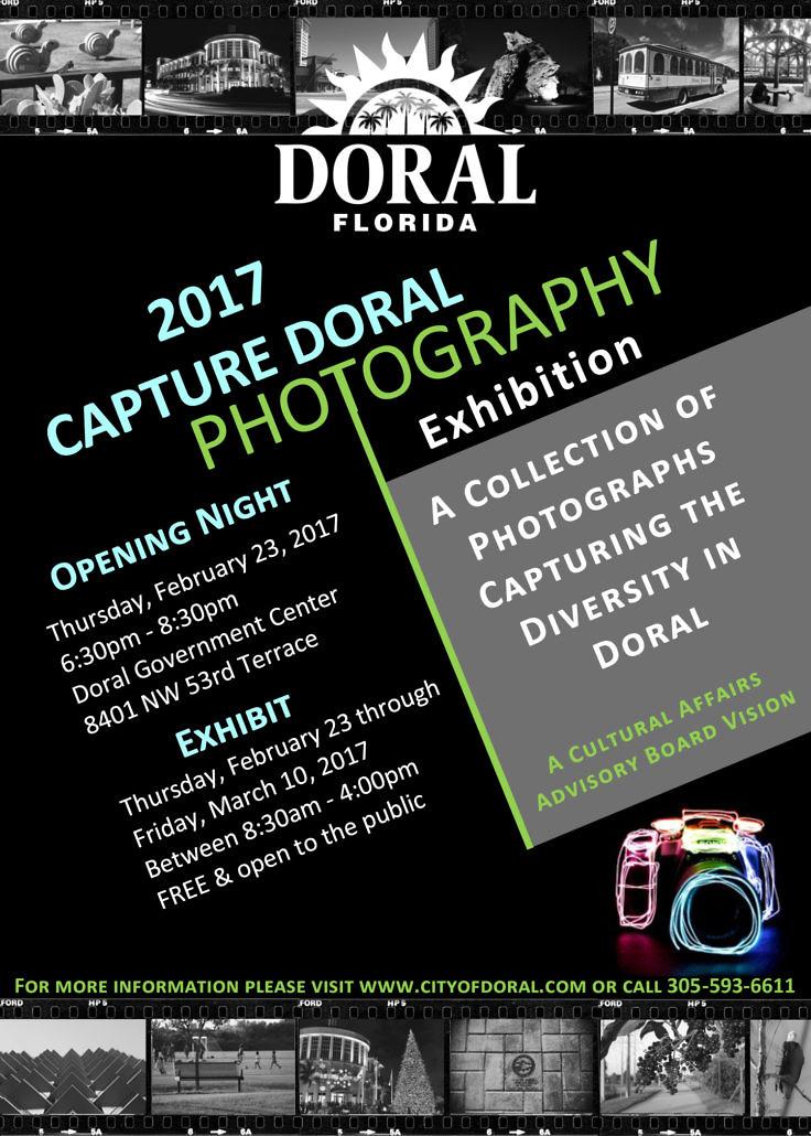 Capture Doral Photography Flyer