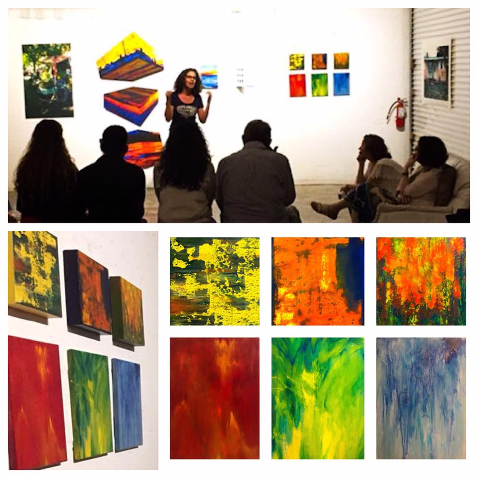 Andrea Askowitz, Pedro Figueredo, Becky Flowers, Oscar Fuentes, Chab Jagarnauth, Maria Lino, Rose Miller, Rafa Montilla, Dick Jordan, the field artwork