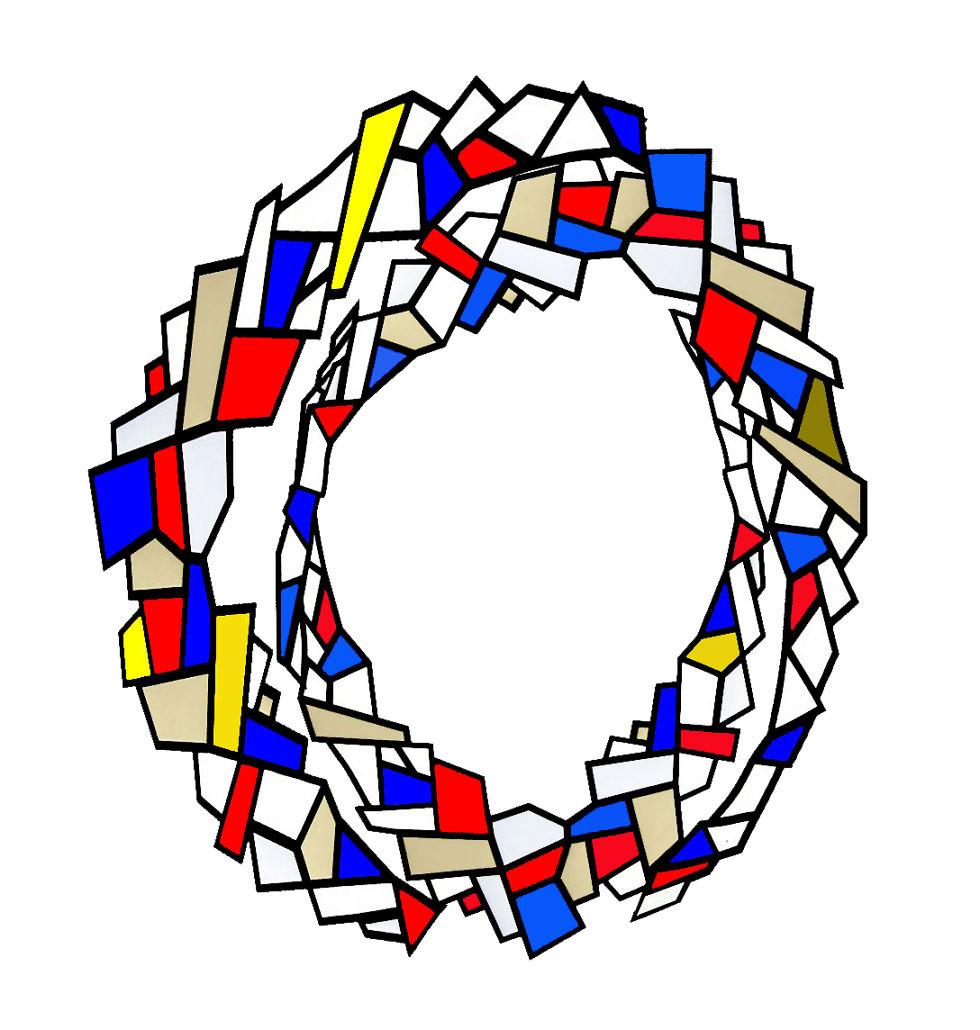 Migraine Aura, Geometric abstraction