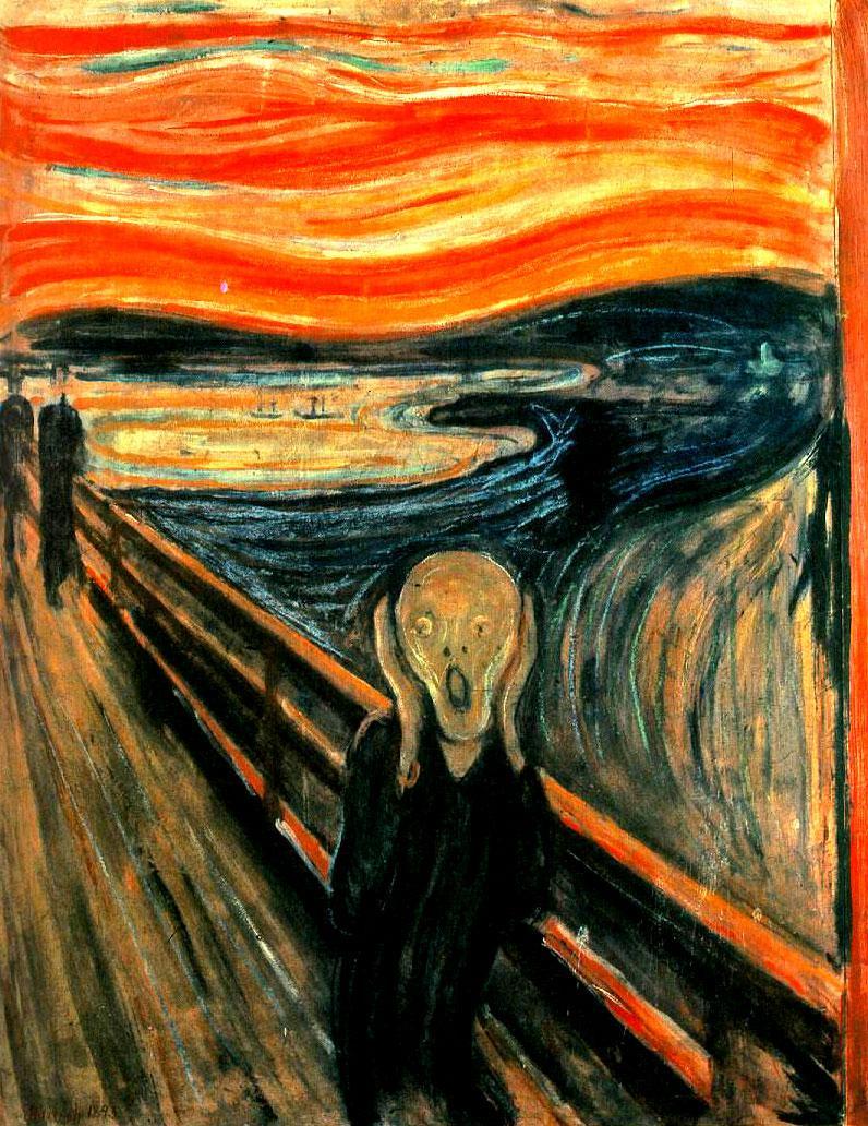 Edvard Munch El Grito