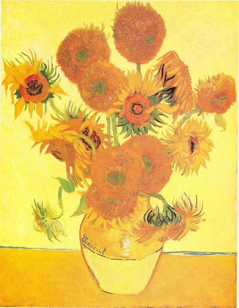 Vincent Van Gogh, Girasol