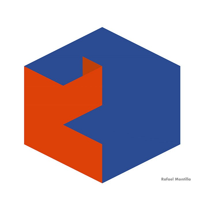 Geometric Abstraction Kube- rafael Montilla